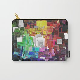 Spectral Geometric Abstract Carry-All Pouch