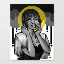 Saint of Soggy Cigarettes  Canvas Print