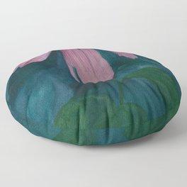 Garden Shadows Floor Pillow