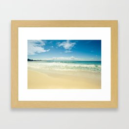 Kapalua Honokahua Maui Hawaii Framed Art Print