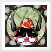 Art Print featuring secret garden by Soloka