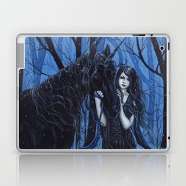 Midnight Travelers Gothic Fairy and Unicorn Laptop & iPad Skin