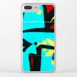 Local Graffiti Clear iPhone Case
