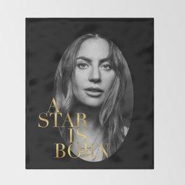 A Star Is Born Throw Blanket