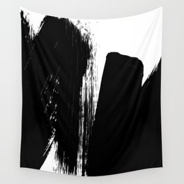 Monochrome Ink 02 Wall Tapestry