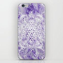 Marble Mandala Twist XI iPhone Skin