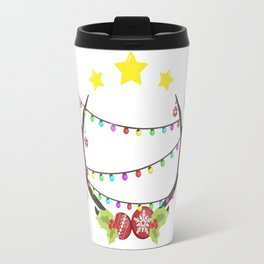 Christmas deer Travel Mug
