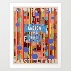 Andrew Bird Poster Art Print