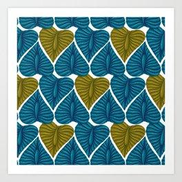 Exotic pattern Art Print