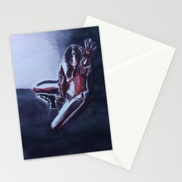 When the Night is Ending Stationery Cards