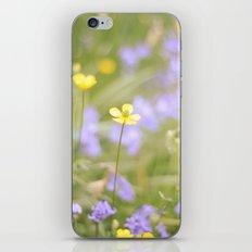pretty florals iPhone & iPod Skin