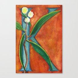 K is for Koa Canvas Print