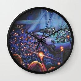 Divided Sky Wall Clock