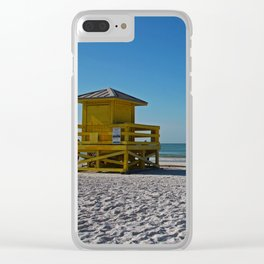 Siesta Key Station Clear iPhone Case
