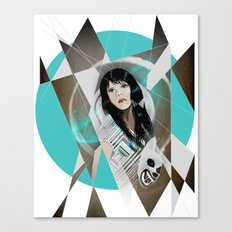BAT FOR LASHES & The Mask Canvas Print