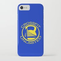 crossfit iPhone & iPod Cases featuring Crossfit Unlimited T-shirt Design by Cloud 10