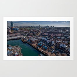 The Camber.  Art Print