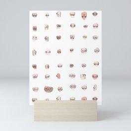 boobs Mini Art Print