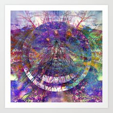 Rainbow Roots Art Print