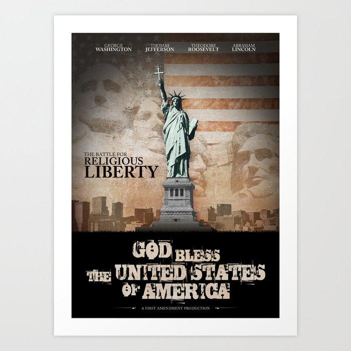 Battle For Religious Liberty Art Print