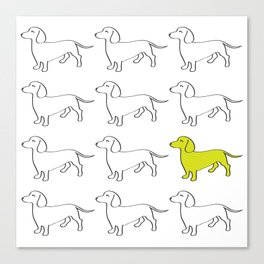 Weenie Collective Canvas Print