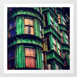 Day 55: Zoetrope Green Art Print