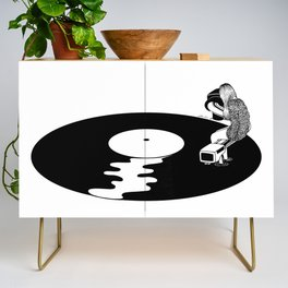 Don't Just Listen, Feel It Credenza