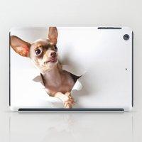 chihuahua iPad Cases featuring Chihuahua by Brigitta