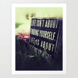 Create Yourself.  Art Print