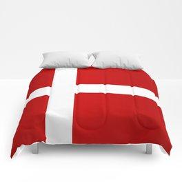 Flag of Denmark Comforters