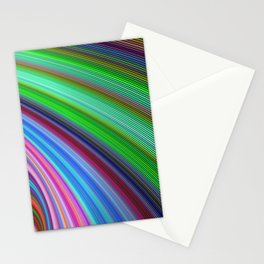 Striped Vortex Stationery Cards