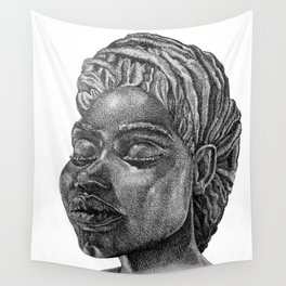 Puerto Rican goddess Wall Tapestry