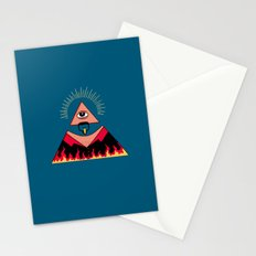 The All Seeing Eye Fieri  Stationery Cards