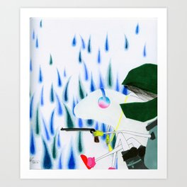 Say Sorry. Art Print
