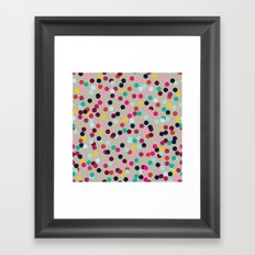 Confetti #2 Framed Art Print