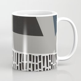Umbrella Rain Abstract Coffee Mug