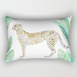 Cheetah in Jungle Rectangular Pillow