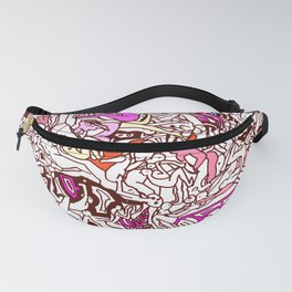 Kamasutra LOVE - Candy Cane Red Fanny Pack