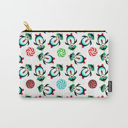 Prancing Penguins Carry-All Pouch