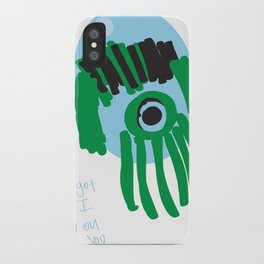 my eye is only on you [SQUID] [EYE]  iPhone Case