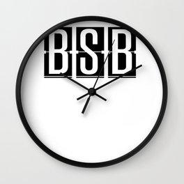 Lago Sul - Brazil Airport Code Design Wall Clock