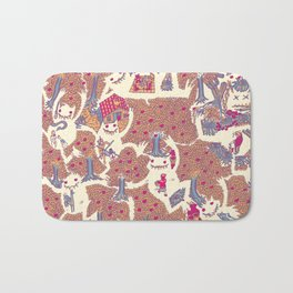 The orchard is such a very silly place Bath Mat