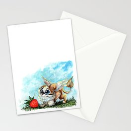 Strawberry Griffin Stationery Cards