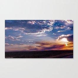 Idaho Sunset Canvas Print