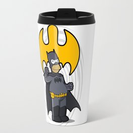 bat-homer: the Simpsons superheroes Travel Mug