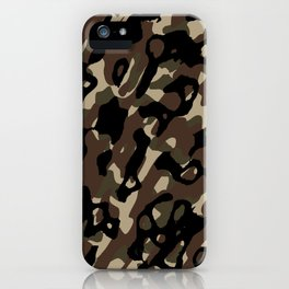 Camouflage Abstract iPhone Case