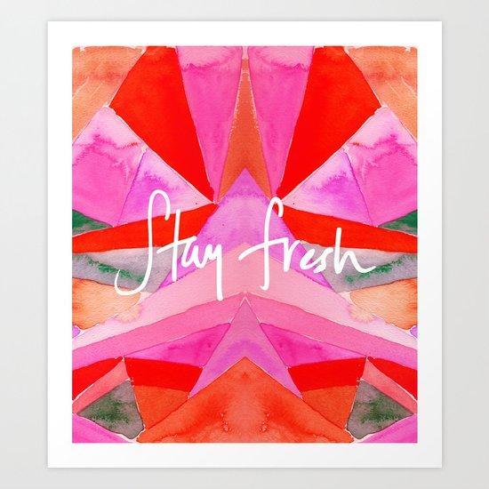 stay fresh Art Print