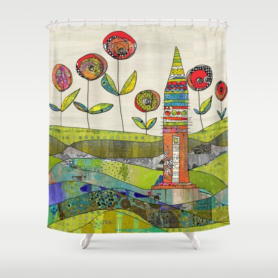 Happy Day. Shower Curtain
