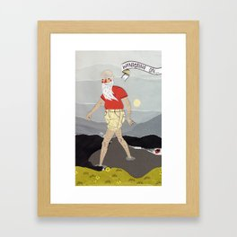 Wandering on... Framed Art Print
