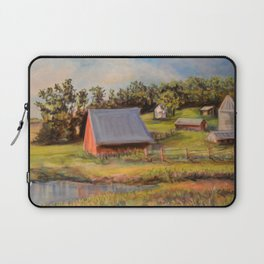 Nestled in the Farmland Laptop Sleeve